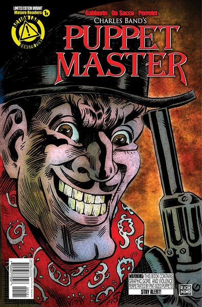 Puppet Master Comic Issue 1 (Variant Andrew Richmond cover)