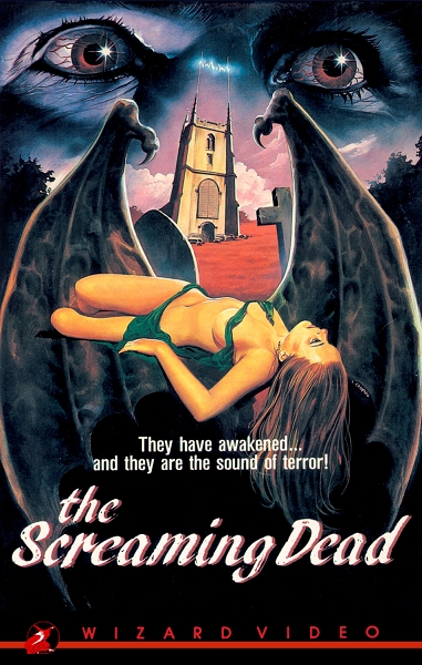 Wizard Video: The Screaming Dead (Big Box VHS)