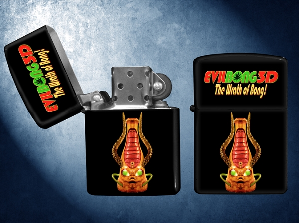 Zippo-Style Lighter (Alien Bong, from Evil Bong 3D: The Wrath of Bong)