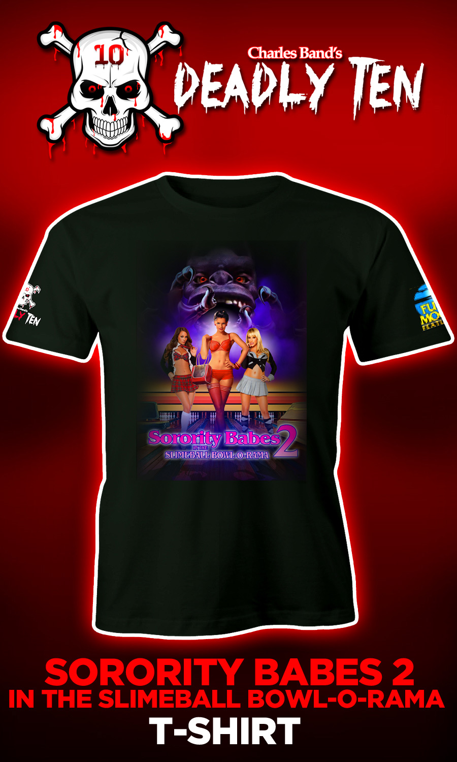 Sorority Babes In The Slimeball Bowl-O-Rama 2 Unisex T-shirt