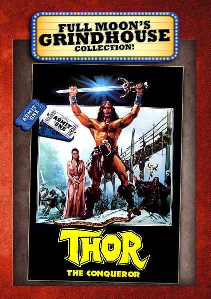 Thor The Conqueror DVD
