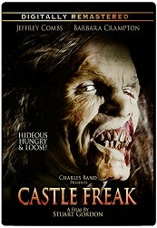 Castle Freak DVD [Remastered]