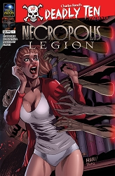 Deadly Ten Presents #3: Necropolis: Legion (Mauricio Campetella cover)
