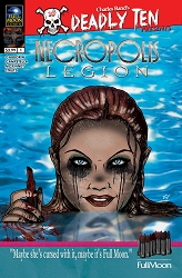 Deadly Ten Presents #3: Necropolis: Legion (Dan Fowler cover)