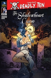 Deadly Ten Presents #7: The Shadowheart Curse (Jason Strutz Cover #1)