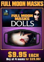 Full Moon Masks: DOLLS