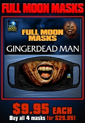 Full Moon Masks: GINGERDEAD MAN