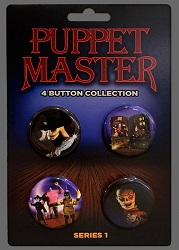 Puppet Master Series 1 Button 4-Pack