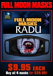Full Moon Masks: RADU