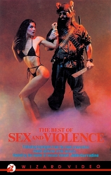 Wizard Video: The Best of Sex and Violence (Big Box VHS)