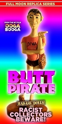 Butt Pirate Badass Dolls Statue