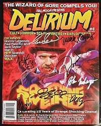SIGNED Delirium Magazine Issue #4