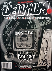 SIGNED Delirium Magazine Issue #13
