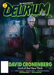 Delirium Magazine Issue #18 (includes FREE Mystery Blu-ray)