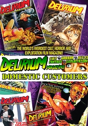 Delirium Magazine 1 Year Subscription: Issues #19-#22 (DOMESTIC ONLY)