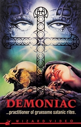 Wizard Video: Demoniac (Big Box VHS)