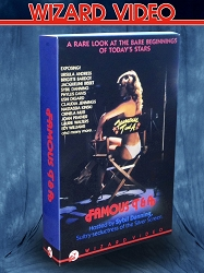 Wizard Video: Famous T&A (Big Box VHS)