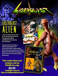 Laserblast Alien Action Figure