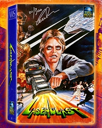Vintage VHS Collection #2: Laserblast (signed/numbered)