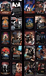 Puppet Master Uncut Sheet of Trading Cards