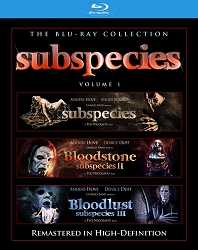 Subspecies 1-3 Blu-ray Slimline Set