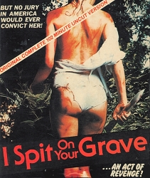 Wizard Video: I Spit On Your Grave (Big Box VHS)