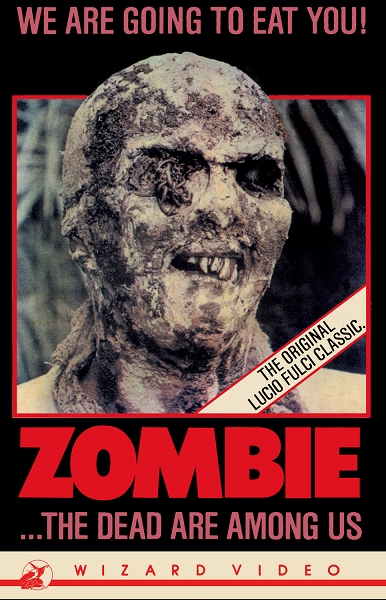 Wizard Video: Zombie (Big Box VHS)