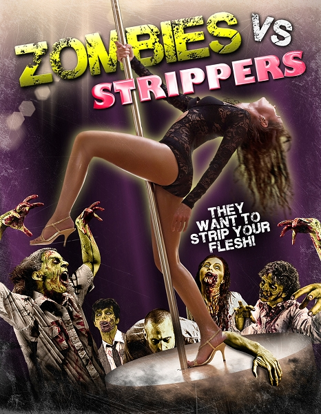 Zombies Vs. Strippers  DVD