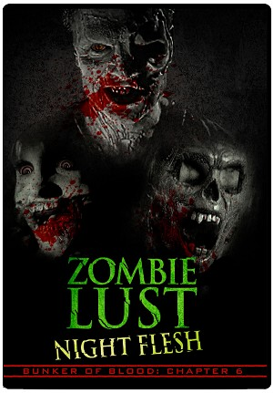 Bunker of Blood 06: Zombie Lust: Night Flesh DVD