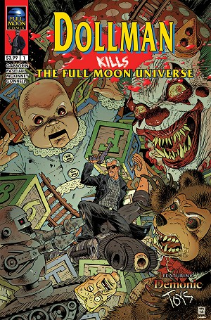 Dollman Kills The Full Moon Universe #1 (Tony Moore cover)