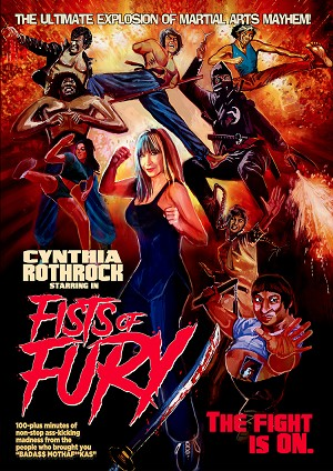 Fists of Fury DVD