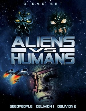 Aliens vs. Humans 3 DVD Slimline Set
