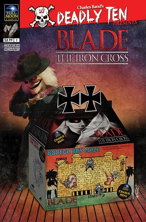 Deadly Ten Presents #1: Blade The Iron Cross (Dan Fowler cover)