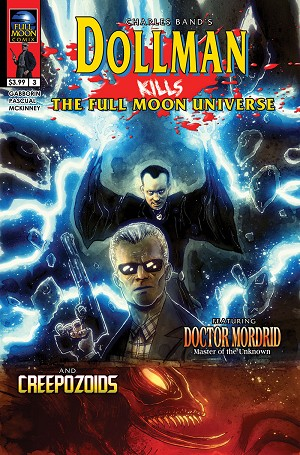 Dollman Kills The Full Moon Universe #3 (Ben Templesmith cover)