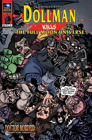 Dollman Kills The Full Moon Universe #3 (Dan Fowler cover)