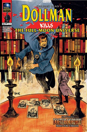 Dollman Kills The Full Moon Universe #3 (Robert Hack cover)