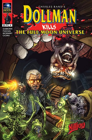 Dollman Kills The Full Moon Universe #4 (Jason Strutz cover)