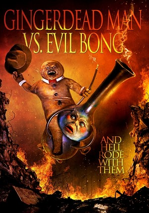 Gingerdead Man vs Evil Bong DVD