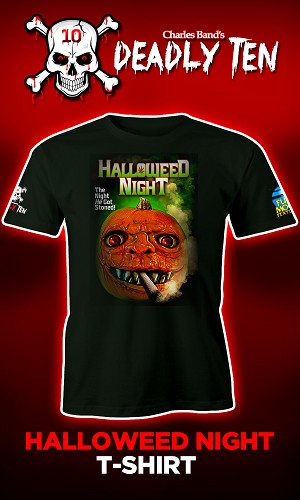 Halloweed Night: Meet the Weedjies Unisex T-shirt
