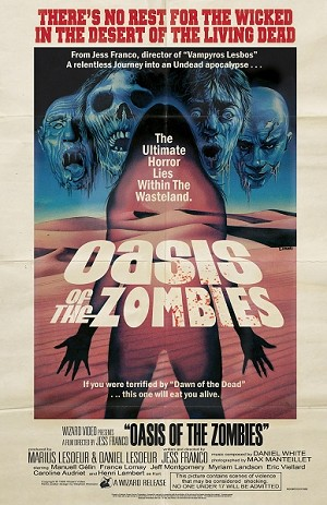 Oasis of the Zombies 11x17 Print