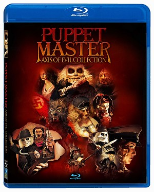 Puppet Master Axis of Evil Collection 3 Blu-ray Set