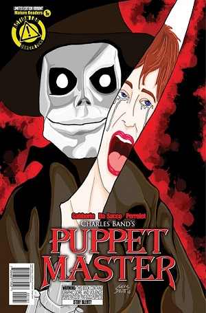 Puppet Master Comic Issue 1 (Variant Steve Doust cover)