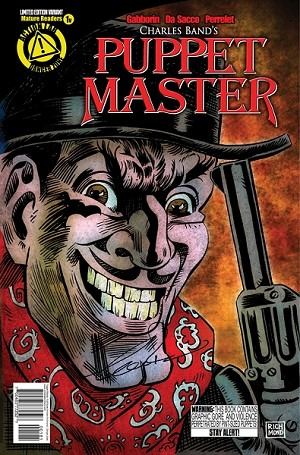 SIGNED Puppet Master Comic Issue 1 (Variant Andrew Richmond cover)