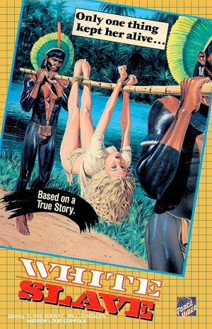 Wizard Video: White Slave (Big Box VHS)